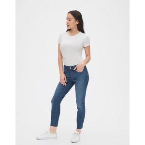 Gap Curvy True Skinny Tall Jeans - Mid Rise